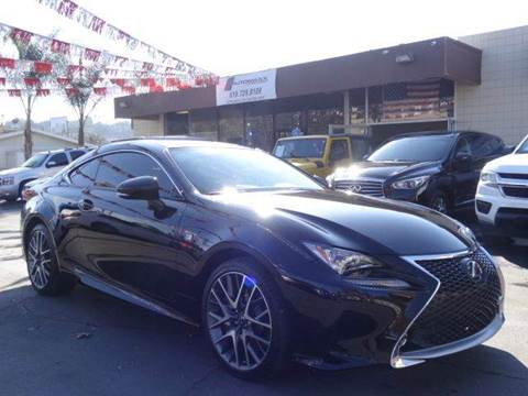 2015 Lexus RC 350 for sale at Automaxx Of San Diego in Spring Valley CA