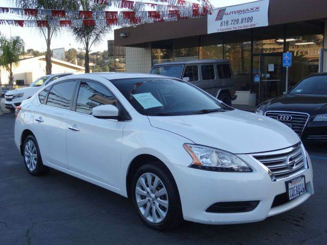 Attractive 2013 Nissan Sentra S 4dr Sedan CVT   Spring Valley CA