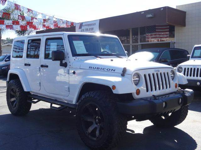 2013 Jeep Wrangler Unlimited 4x4 Rubicon 4dr SUV   Spring Valley CA