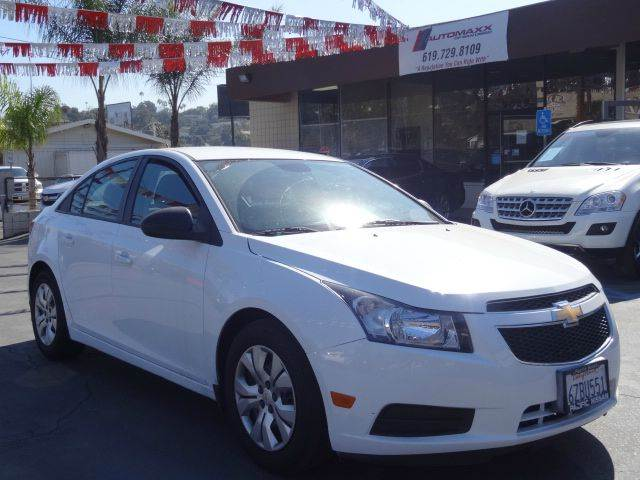 2013 Chevrolet Cruze for sale at Automaxx Of San Diego in Spring Valley CA