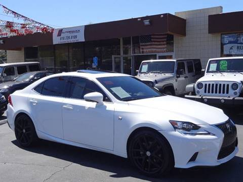 2015 Lexus IS 250 for sale at Automaxx Of San Diego in Spring Valley CA