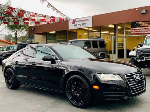 2014 Audi A7 for sale at Automaxx Of San Diego in Spring Valley CA