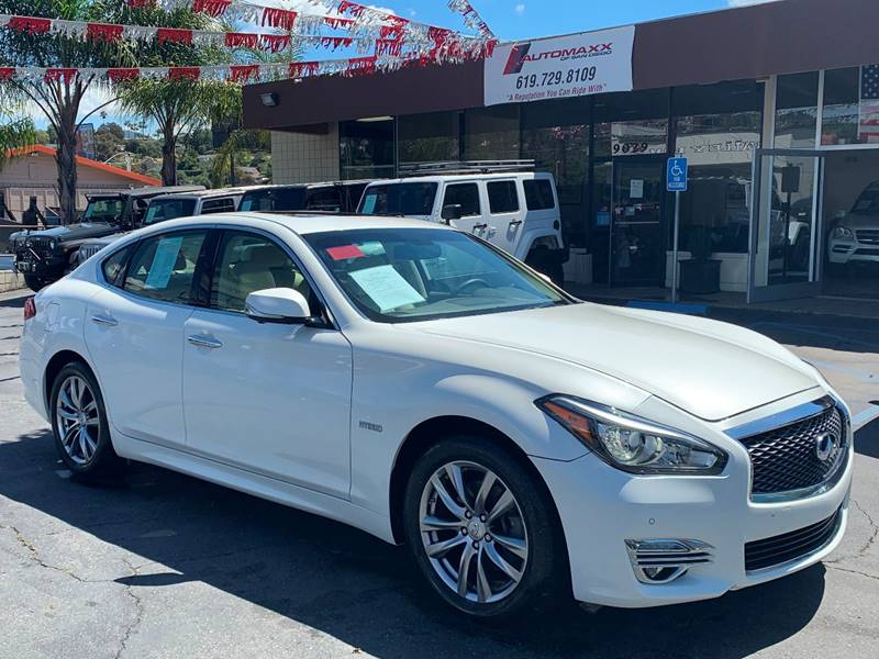 2016 Infiniti Q70 Hybrid for sale at Automaxx Of San Diego in Spring Valley CA
