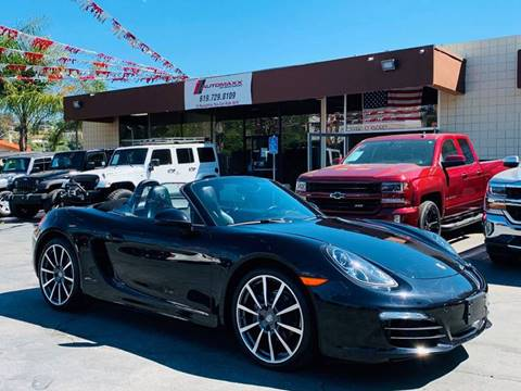 Boxster For Sale >> 2016 Porsche Boxster For Sale In Spring Valley Ca