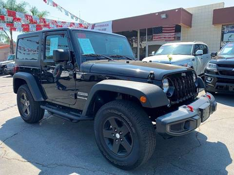 2018 Jeep Wrangler for sale in Spring Valley, CA