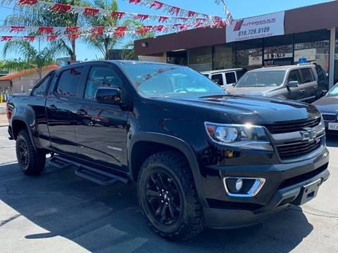 2016 Chevrolet Colorado for sale in Spring Valley, CA