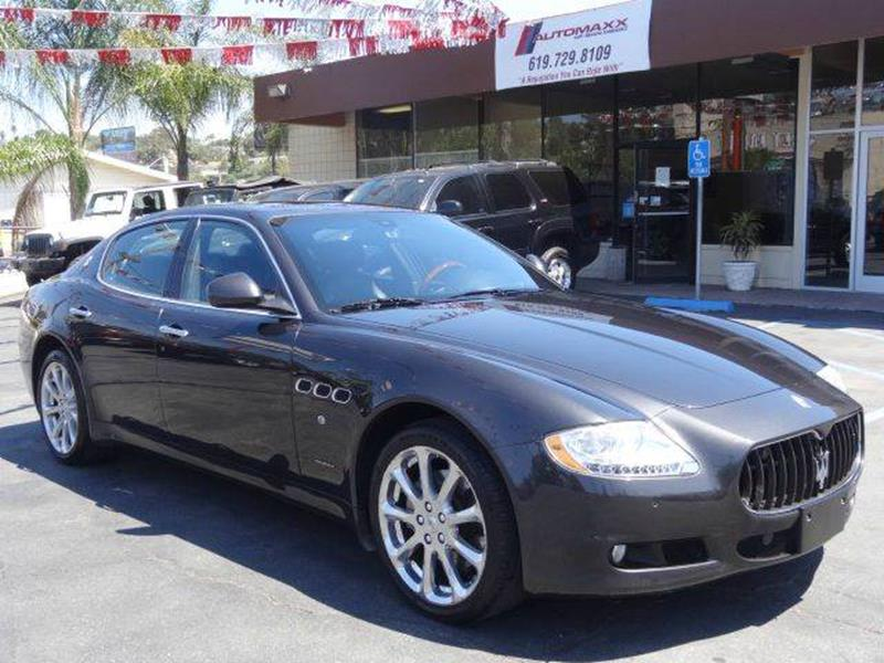 2009 Maserati Quattroporte for sale at Automaxx Of San Diego in Spring Valley CA