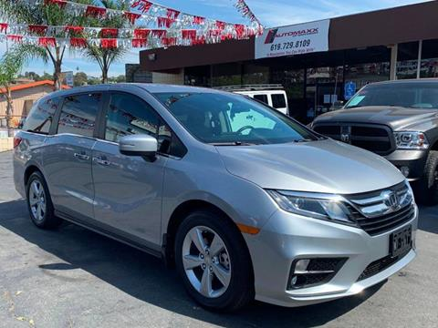 2019 Honda Odyssey for sale at Automaxx Of San Diego in Spring Valley CA