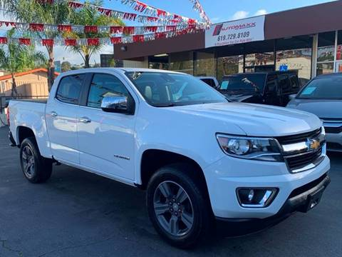 2017 Chevrolet Colorado for sale at Automaxx Of San Diego in Spring Valley CA