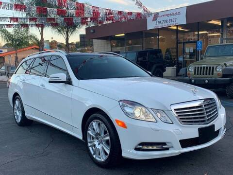 2013 Mercedes-Benz E-Class for sale at Automaxx Of San Diego in Spring Valley CA