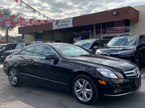 2010 Mercedes-Benz E-Class for sale at Automaxx Of San Diego in Spring Valley CA