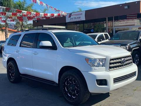 2016 Toyota Sequoia for sale at Automaxx Of San Diego in Spring Valley CA