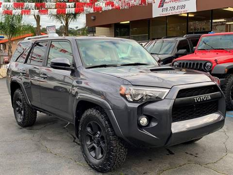 2016 Toyota 4Runner for sale at Automaxx Of San Diego in Spring Valley CA