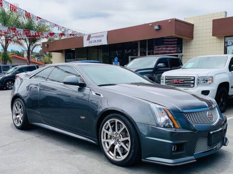 2011 Cadillac CTS-V for sale at Automaxx Of San Diego in Spring Valley CA