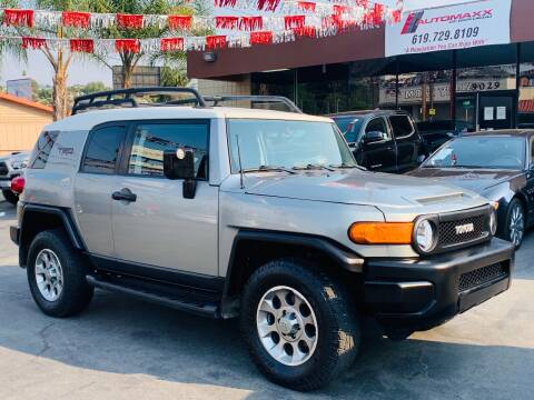 2012 Toyota FJ Cruiser for sale at Automaxx Of San Diego in Spring Valley CA