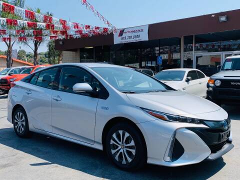 2020 Toyota Prius Prime for sale at Automaxx Of San Diego in Spring Valley CA