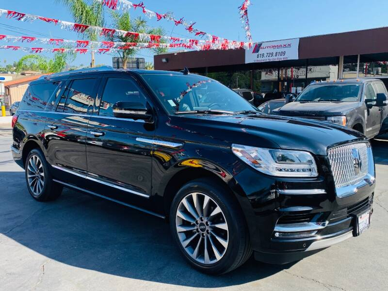 2018 Lincoln Navigator L for sale at Automaxx Of San Diego in Spring Valley CA