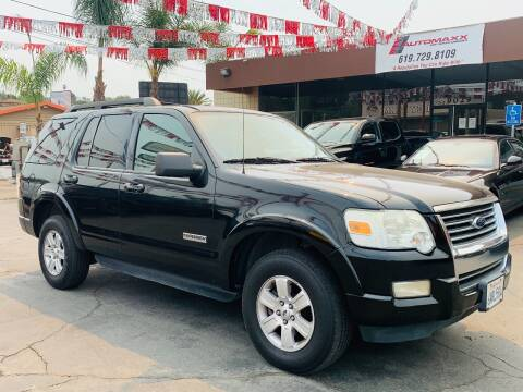 2008 Ford Explorer for sale at Automaxx Of San Diego in Spring Valley CA