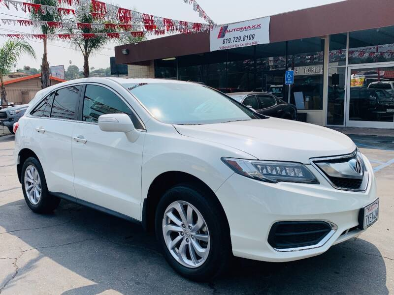2017 Acura RDX for sale at Automaxx Of San Diego in Spring Valley CA