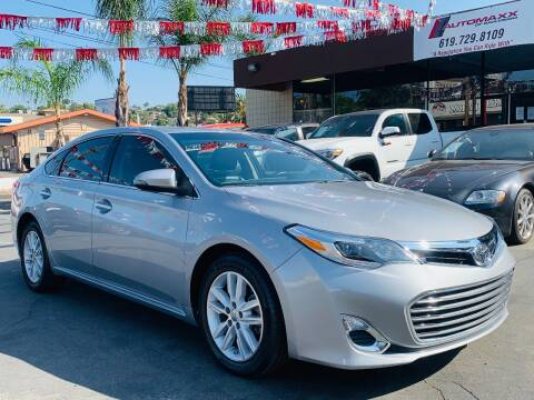 2015 Toyota Avalon for sale at Automaxx Of San Diego in Spring Valley CA