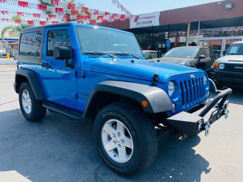 2016 Jeep Wrangler for sale at Automaxx Of San Diego in Spring Valley CA