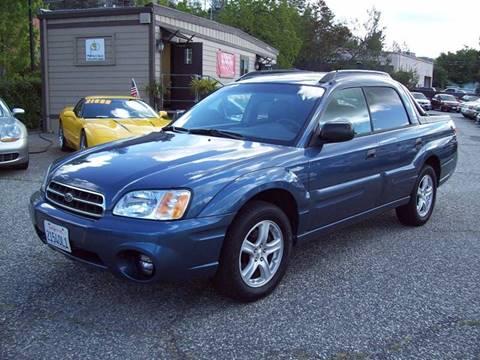 2006 Subaru Baja for sale at PSB Auto Sales in Grass Valley CA