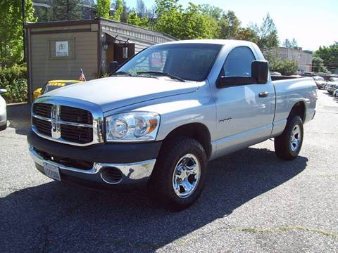 2008 Dodge Ram Pickup 1500 for sale at PSB Auto Sales in Grass Valley CA
