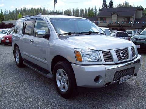2007 Nissan Armada for sale at PSB Auto Sales in Grass Valley CA