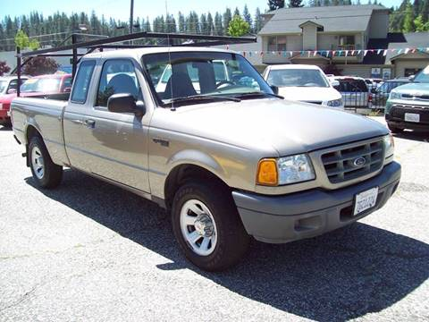 2003 Ford Ranger for sale at PSB Auto Sales in Grass Valley CA