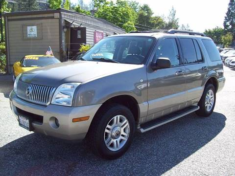2005 Mercury Mountaineer for sale at PSB Auto Sales in Grass Valley CA