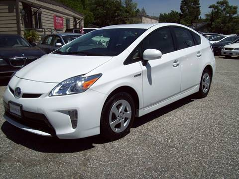 2013 Toyota Prius for sale at PSB Auto Sales in Grass Valley CA