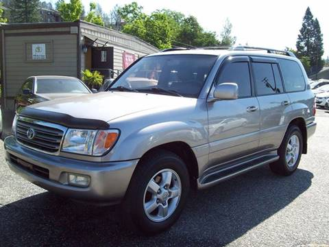 2004 Toyota Land Cruiser for sale at PSB Auto Sales in Grass Valley CA