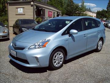 2012 Toyota Prius v for sale at PSB Auto Sales in Grass Valley CA