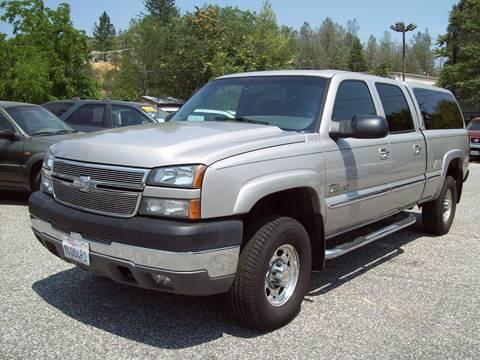 2005 Chevrolet Silverado 2500HD for sale at PSB Auto Sales in Grass Valley CA
