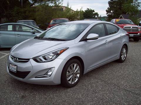 2014 Hyundai Elantra for sale at PSB Auto Sales in Grass Valley CA