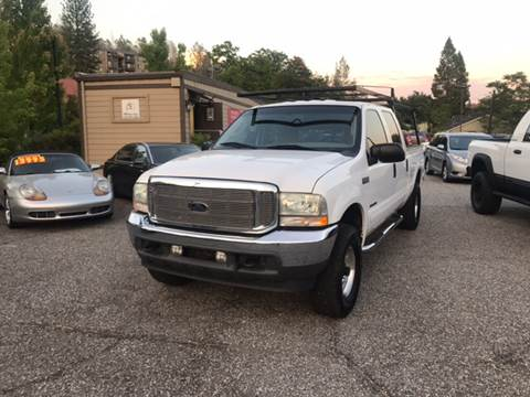 2003 Ford F-250 Super Duty for sale at PSB Auto Sales in Grass Valley CA