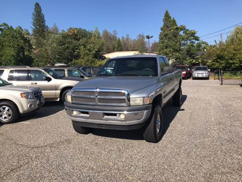 2001 Dodge Ram Pickup 2500 for sale at PSB Auto Sales in Grass Valley CA