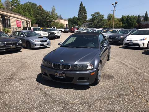 2003 BMW M3 for sale at PSB Auto Sales in Grass Valley CA