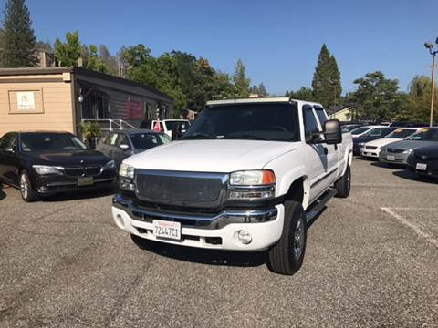 2007 GMC Sierra 2500HD Classic for sale at PSB Auto Sales in Grass Valley CA