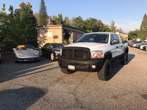 2006 Dodge Ram Pickup 2500 for sale at PSB Auto Sales in Grass Valley CA