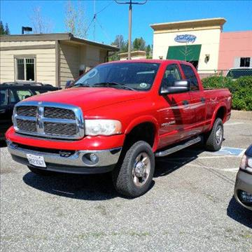 2004 Dodge Ram Pickup 2500 for sale at PSB Auto Sales in Grass Valley CA