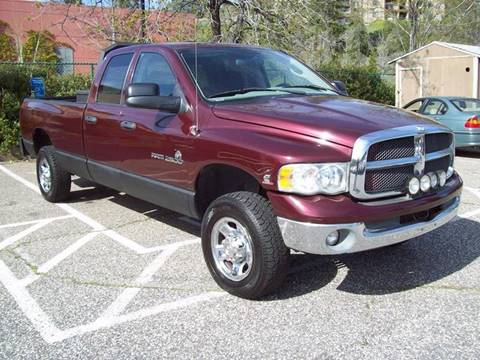 2003 Dodge Ram Pickup 2500 for sale at PSB Auto Sales in Grass Valley CA