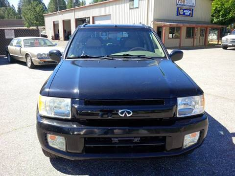 2001 Infiniti QX4 for sale at PSB Auto Sales in Grass Valley CA