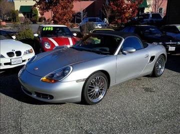 2002 Porsche Boxster for sale at PSB Auto Sales in Grass Valley CA