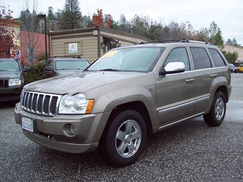 2006 Jeep Grand Cherokee for sale at PSB Auto Sales in Grass Valley CA