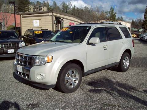 2009 Ford Escape for sale at PSB Auto Sales in Grass Valley CA