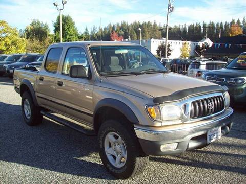 2002 Toyota Tacoma for sale at PSB Auto Sales in Grass Valley CA