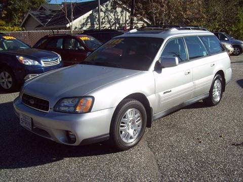 2004 Subaru Outback for sale at PSB Auto Sales in Grass Valley CA