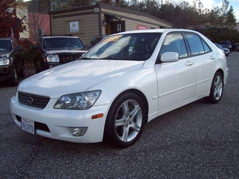 2001 Lexus IS 300 for sale at PSB Auto Sales in Grass Valley CA