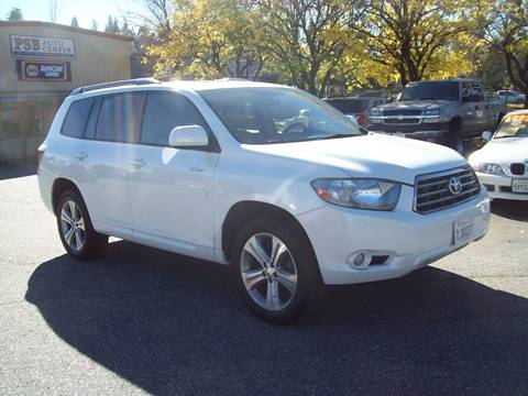 2008 Toyota Highlander for sale at PSB Auto Sales in Grass Valley CA